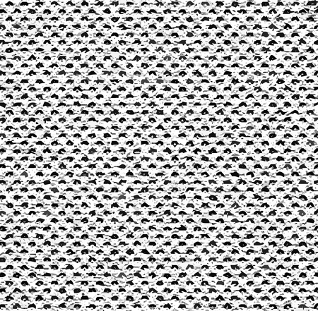 glitch: Black and white mottled pattern. Melange texture pattern. Vector seamless