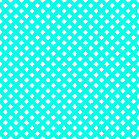 Turquoise mesh pattern. Overlaying vector seamless pattern
