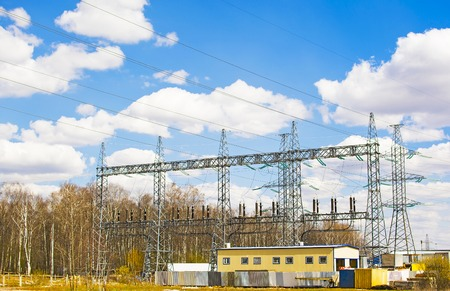 High voltage substations and outbuildings