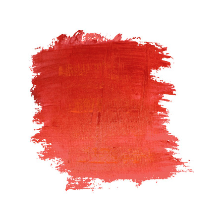 Red painted vector banner. Element for different design