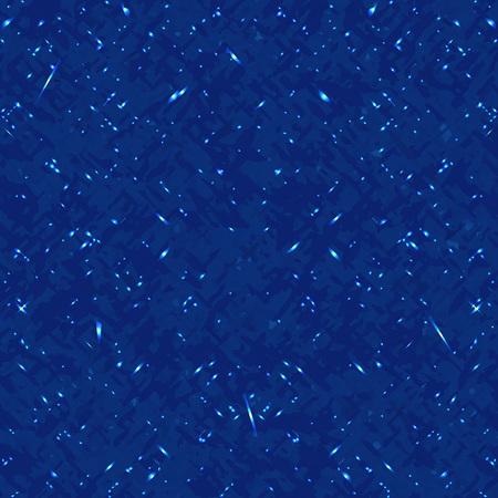 Blue spark pattern. Ilustrace
