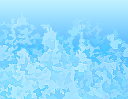 Blue spotted background as ice. Vector modern background for posters, brochures, sites, web, cards, interior design Stock Photo