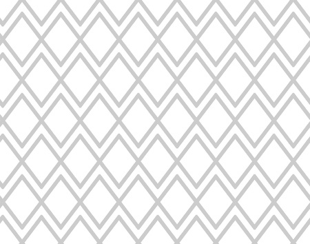 Gray pattern with rhombuses. Grey mesh background. Vector seamless Ilustração
