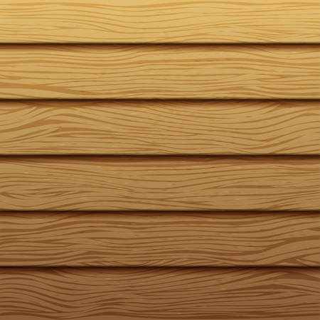 tack: Realistic wood texture. Background of wooden horizontal boards. Vector wooden backdrop. Tree decor panel.