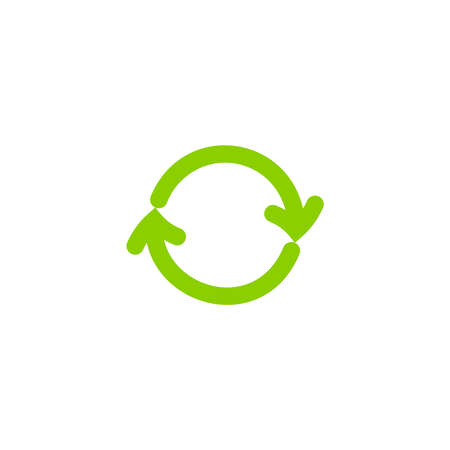 Recycling ecology thin line vector icon. Protection of the environment and nature linear sign. Ecological symbol for infographic, website or app.