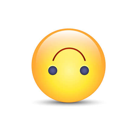 silliness: Upside-Down happy emoticon