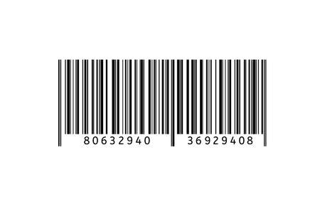 Barcode vector flat icon. Bar code sign. Thin line symbol