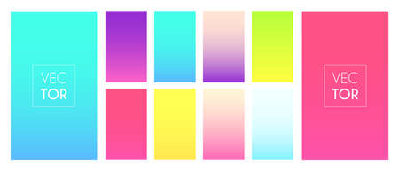 Colorful gradient background. Pastel color wallpaper. Soft multicolor screen