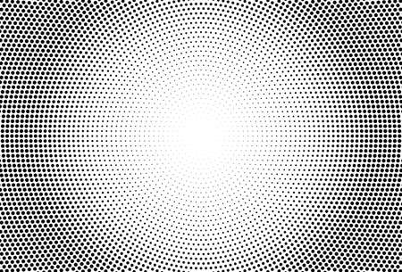 Halftone effect. with Black polka dots. Vector geometric texture