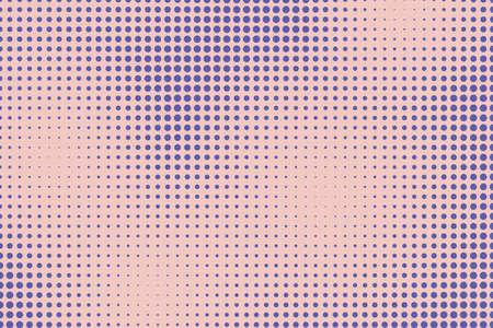 Pop art background. Retro comic halftone effect. Vector