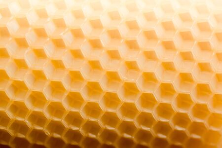 Beautiful pattern texture hexagonal honeycombs in saturated color. Фото со стока - 130788942