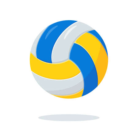 Volley ball icon. Sport equipment for playing volleyball.