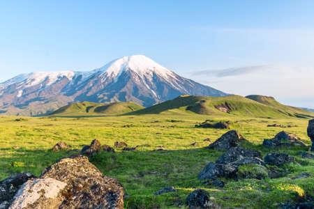 kamchatka: The slopes of the volcano Tolbachik, Kamchatka, Russia
