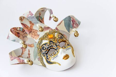mascara de teatro: Máscara de Venecia.