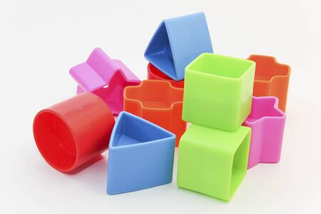 Colorful plastic toys.