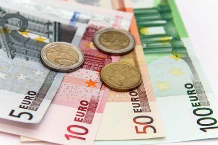 european exchange: Money Euro.