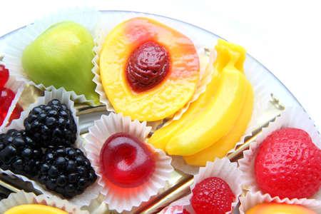 Creative fruit candies