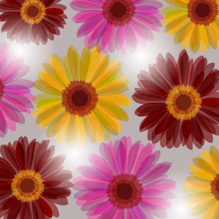 Daisy flowers in fantasy twilights Stock Vector - 8885515