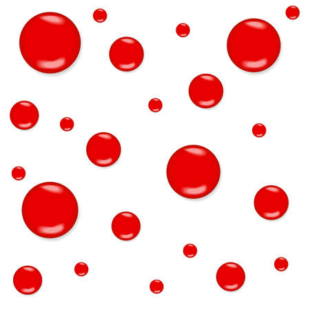 Seamless background with blood drops