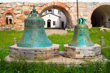 The Bells of Solovetsky Monastery, Karelia, North of Russia.