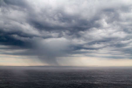 severe weather: Severe weather on Ladoga lake in Russia