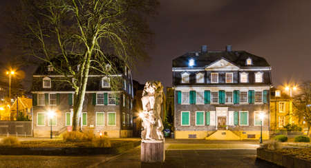 Engels House in Wuppertal-Barmen Stock Photo