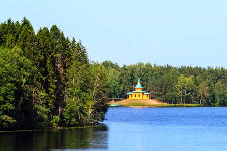 Russian church in Staraya Sloboda, Russia