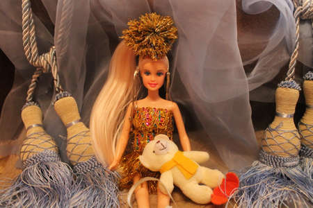 fashion style doll with accessories for gift