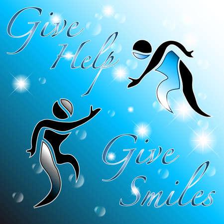 Dare aiuto, date sorrisi. Sarai il sorriso