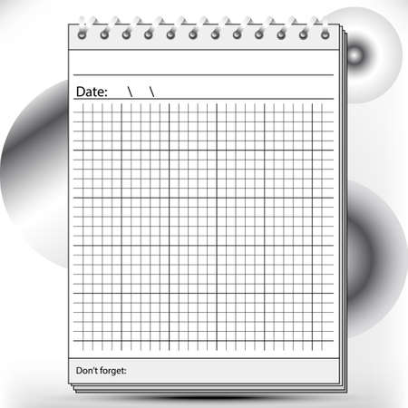 instruction sheet: Arithmetic Block notes in black and white shades