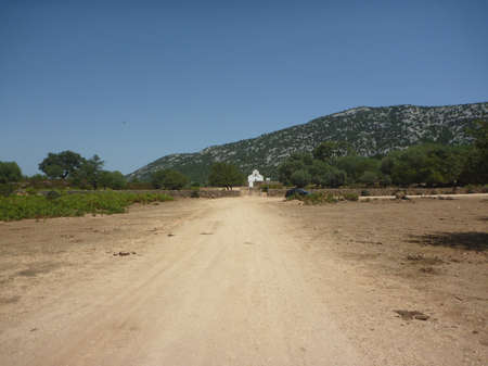San Pietro church on Golgo upland (Sardinia)