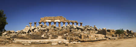 Valley of Temples, temple ruins, Agrigento, Italy