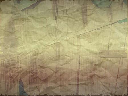 Carta increspata con effetto legno in tonalità chiara, bordi strappati