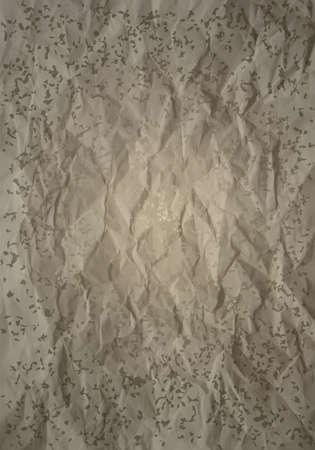 Grunge carta con pieghe e macchie di colori neutri