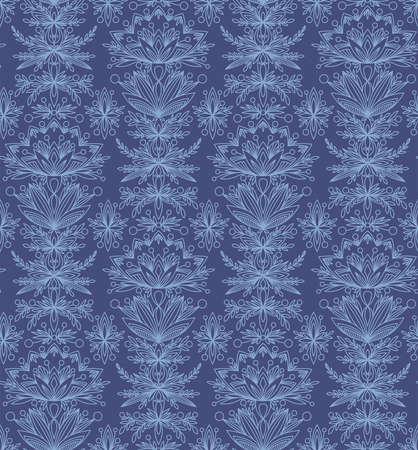 BLUE PATTERN WITH FABULOUS BLUE COLORS IN THE VECTOR