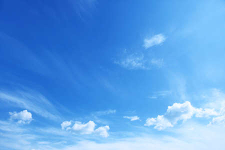 clouds in sky: Blue sky.