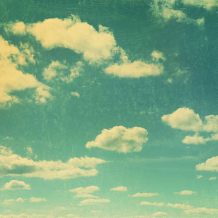 Retro sky.