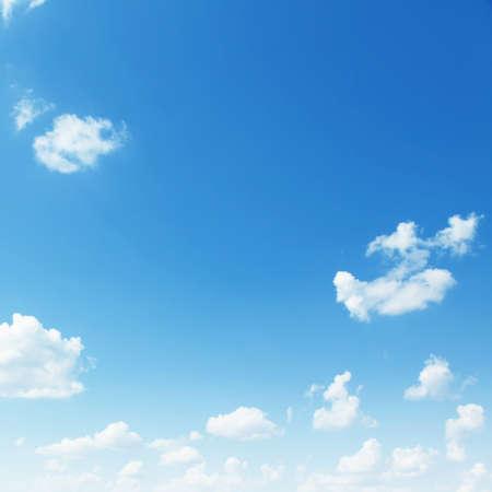 Blue sky background  Stock Photo