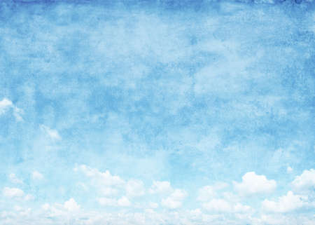 Blue sky in grunge style  Stock Photo - 17830949