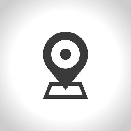 map pin: map pin icon. vector