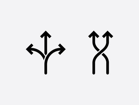 flexibility icon. concept vector illustration, black and white symbol. Banco de Imagens - 109107191