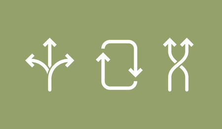 flexibility icon. concept vector illustration, black and white symbol. Ilustrace