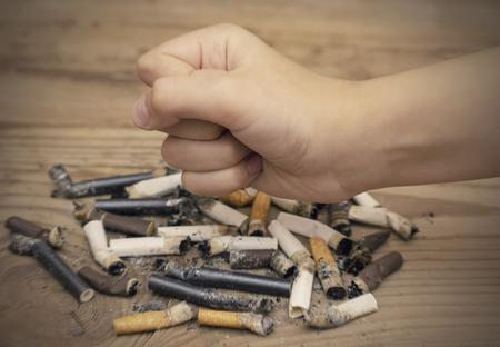 World no Smoking day, no Smoking, no cigarettes, leaflet