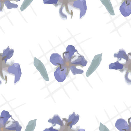 Handmade watercolor flowers illustration. Abstraction. Pattern. Natural pastel colors. Stock fotó