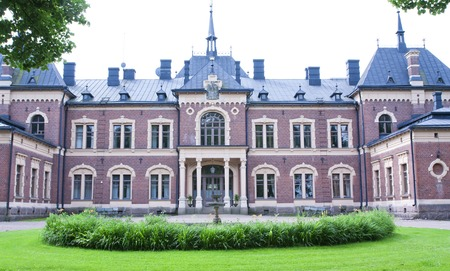 stately: MALMGARD FINLAND 29 JULY 2015: The Manor House Editorial