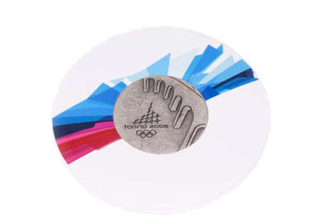 Torino 2006 Olympic Games Participation medal obverse Kouvola Finland 06.09.2016