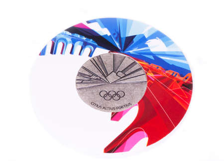 Torino 2006 Olympic Games Participation medal reverse Kouvola Finland 06.09.2016