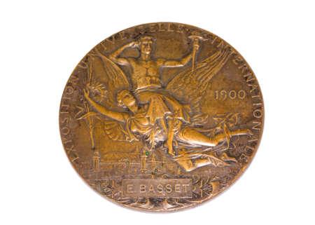 Paris 1900 Olympic Games Participation medal reverse Kouvola Finland 06.09.2016