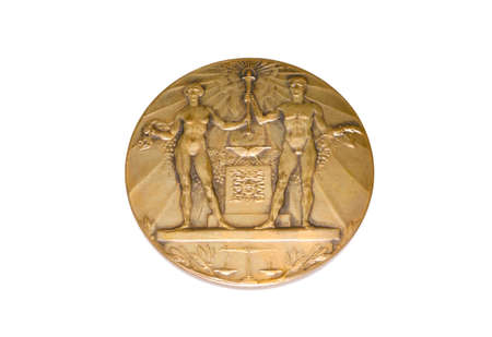 Amsterdam 1928 Olympic Games Participation medal obverse Kouvola Finland 06.09.2016