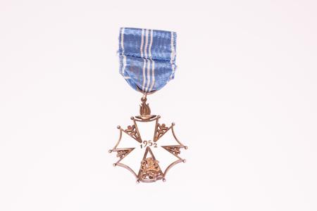 Kouvola Finland - 26 March 2017: The Finnish Olympic Cross of Merit, 2nd class.
